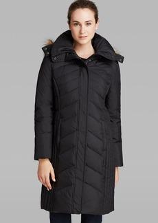 Marc New York Down Coat - Mercer Faux Fur Trimmed Hood