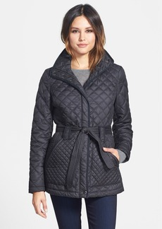 Marc New York 'Fiona' Belted Quilted Coat (Online Only)
