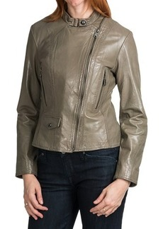 Marc New York Giselle Distressed Leather Jacket (For Women)