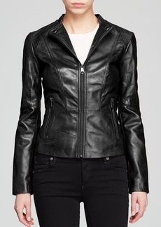 Marc New York Molly Modern Leather Jacket