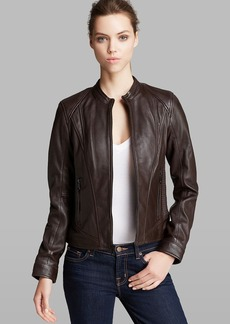 Marc New York Jacket - Randy Structured City Leather