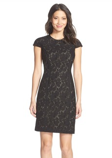Marc New York Lace Sheath Dress