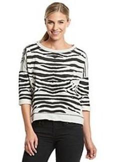 Marc New York Performance® Animal Printed Sweatshirt