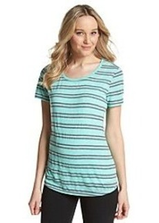 Marc New York Performance Scoop Neck Stripe Tee