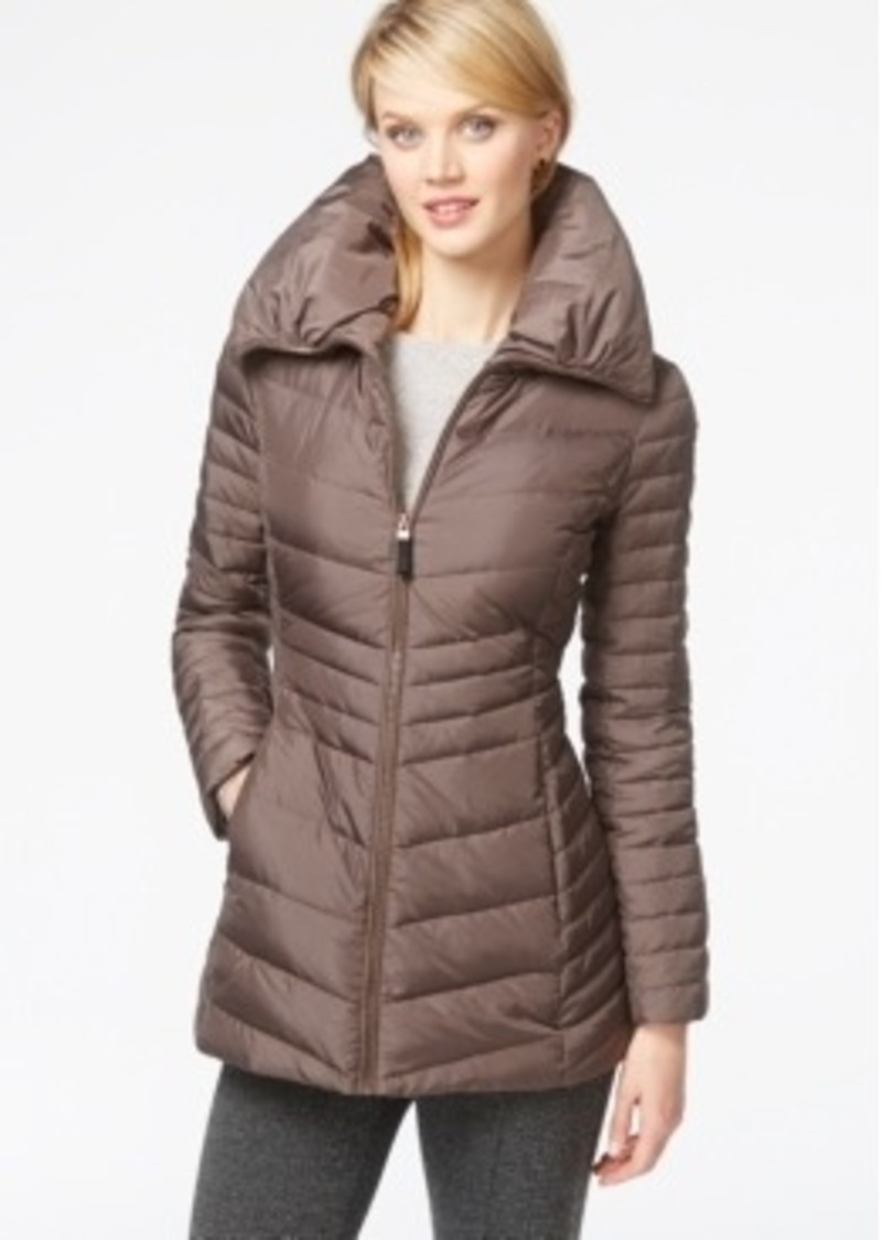 Andrew Marc Marc New York Pillow Collar Down Puffer Coat