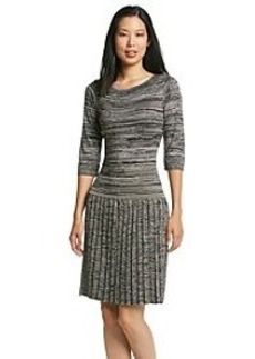 Marc New York Pleat Skirt Sweater Dress