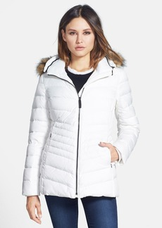 Marc New York 'Samantha' Faux Fur Trim Hooded Puffer Jacket (Online Only)
