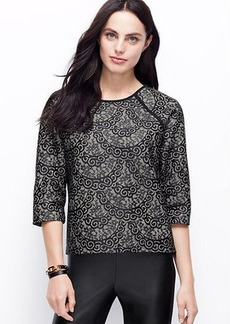 Bonded Lace Sweater