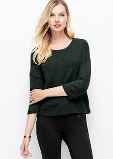 Cozy Cropped Pullover