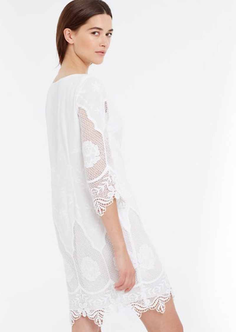 Ann taylor embroidered tunic dress dresses shop it to me for Robes de noce ann taylor