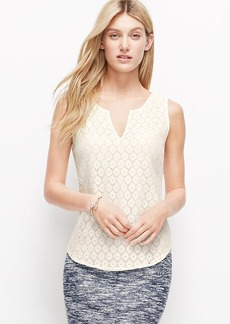 Floral Lace Shell