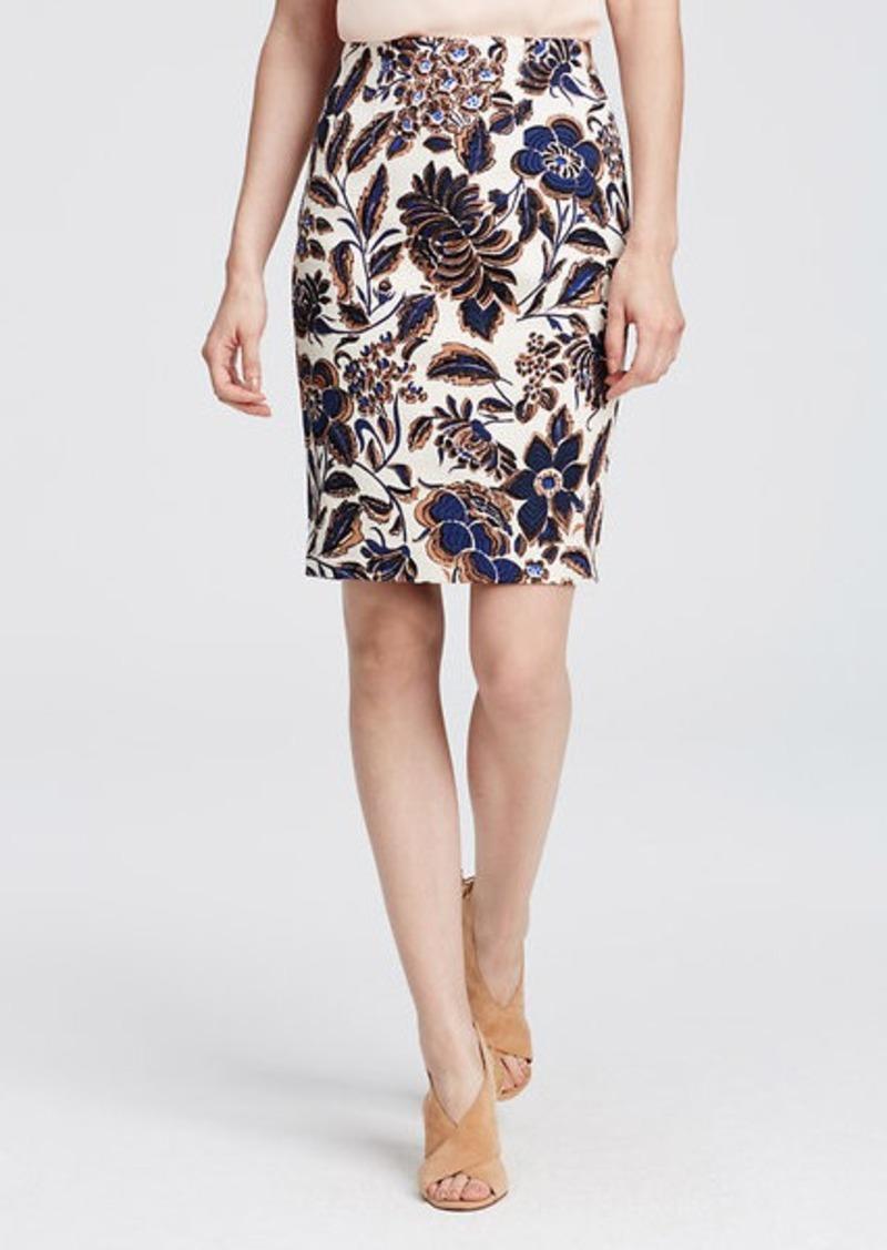 floral pencil skirt - photo #10
