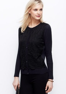 Lace Front Ann Cardigan
