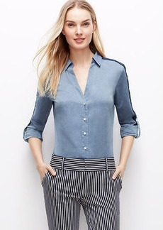 Lacy Chambray Shirt