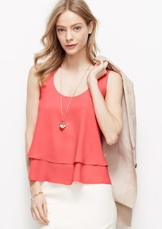 Layered Cropped Tank