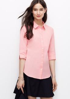 Perfect Short Sleeve Button Down Shirt
