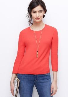 Petite 3/4 Sleeve Sweater