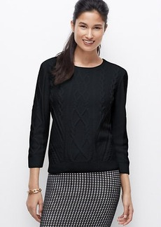 Petite Cable Sweater