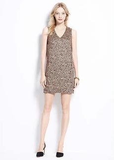 Petite Cheetah Print Cocoon Dress