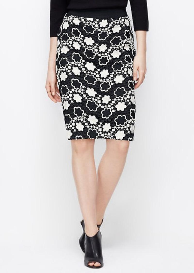 floral pencil skirt - photo #23