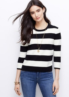 Petite Graphic Sweater