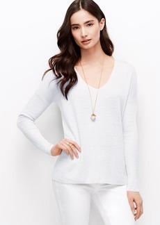 Petite Linen Blend Tunic