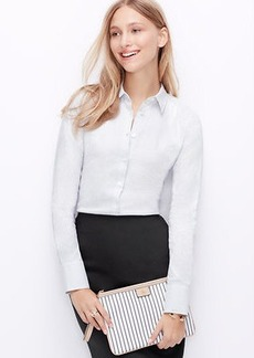 Petite Mini Square Perfect Shirt