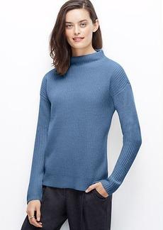 Petite Mock Neck Sweater