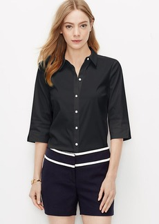 Petite Perfect Short Sleeve Button Down Shirt