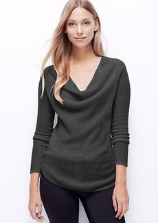 Petite Pointelle Cashmere Sweater