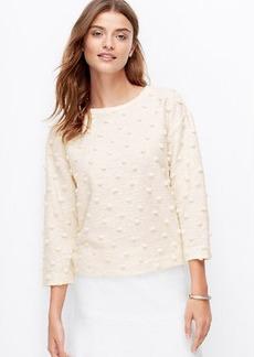 Petite Pom Pom Sweatshirt