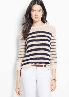 Petite Sea Stripe Sweater