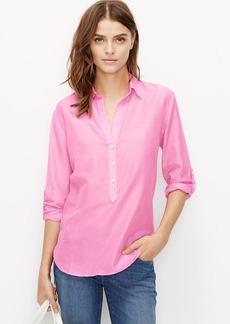 Petite Silky Shirt