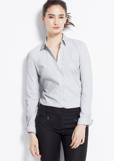 Petite Square Dot Perfect Shirt