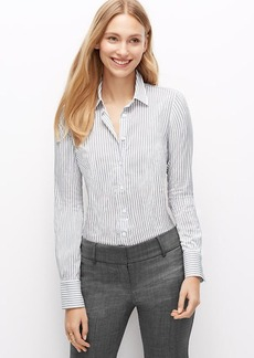 Petite Stripe Perfect Shirt