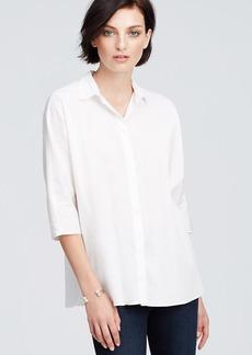 Petite Three-Quarter Sleeve Shirt