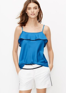 Petite Tiered Tipped Cami