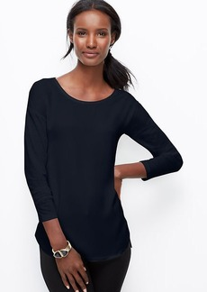 Petite Woven Front Top