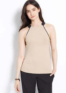 Piped Halter Top