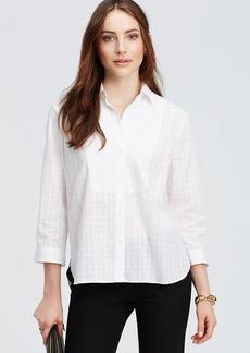 Plaid Bib Shirt