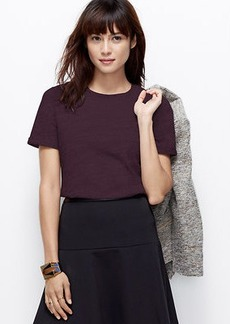 Quilted Shoulder Tee