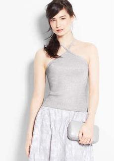 Shimmer Knit Halter Top