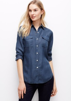 Snap Chambray Shirt