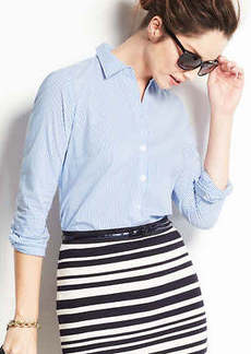 Striped Perfect Long Sleeve Shirt