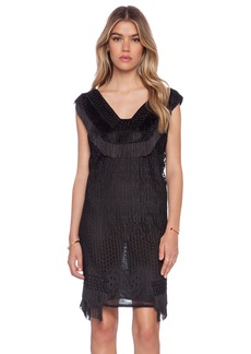 Anna Sui Crochet Lace Dress