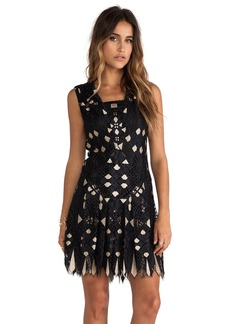 Anna Sui Diamond Lace Dress