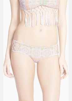 Anna Sui for O'Neill 'Love Birds' Hipster Bikini Bottoms
