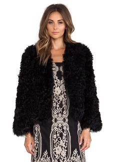 Anna Sui Kalgan Lamb Fur Jacket