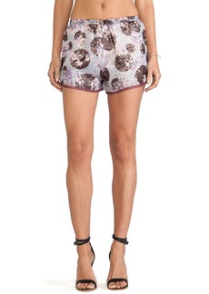 Anna Sui Moonlight Floral Print Shorts