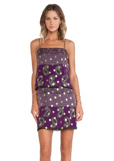 Anna Sui Paisley Print Tank Dress